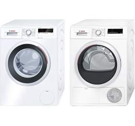 SET Pračka Bosch WAN24160BY + Sušička Bosch WTH85200BY kondenzační