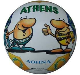 MONDO 03-107 Athens potištěný míč