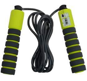 LIFEFIT Counter Rope, dl. 280 cm - černá/zelená