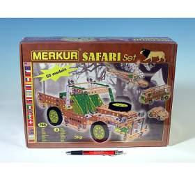 Stavebnice Merkur SAFARI Set 765ks vkrabici 36x27x8cm