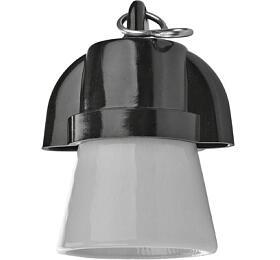 Objímka nažárovku E27 plastová 1332-407, háček