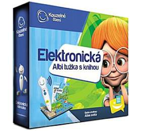 ALBI Elektronická tužka + Atlas světa