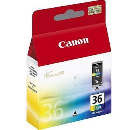 Canon CLI-36C, 249 stran, originální - červená/modrá/žlutá