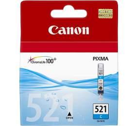 Canon CLI-521C, 530 stran originální -modrá