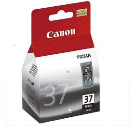 Canon PG-37Bk, 11ml originální - černá