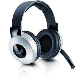 Genius HS-05A - černý/stříbrný
