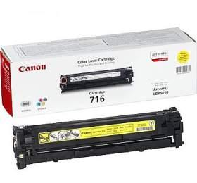 Canon CRG-716Y, 1,5K stran originální - žlutý
