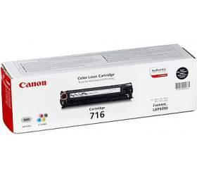 Canon CRG-716Bk, 2,2K stran originální -černý