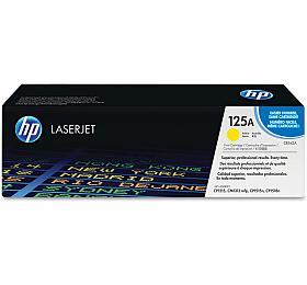 Toner HP CB542A, 1,4K stran originální - žlutý