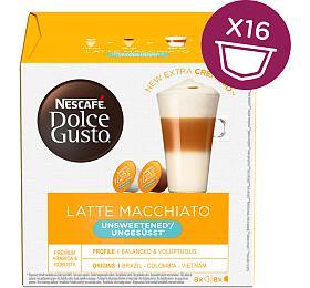 NESCAFÉ® Dolce Gusto® Latte Macchiato bez cukru kávové kapsle 16ks