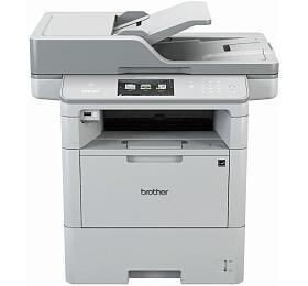 Brother DCP-L6600DW A4, 46str./min, 1200 x 1200, 512 MB, duplex, WF, USB - bílá