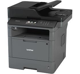 Brother MFC-L5750DW A4, 40str./min, 1200 x 1200, 256 MB, automatický duplex, WF, USB - černá