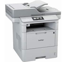 Brother MFC-L6800DW A4, 46str./min, 1200 x1200, 512 MB, duplex, WF, USB -bílá