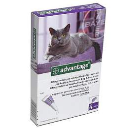 Bayer ADVANTAGE Spot-on Cat 4x0,8 ml