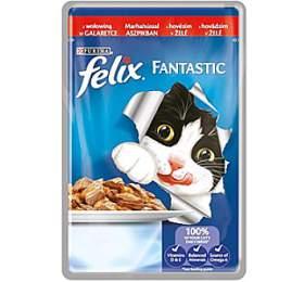 Felix Fantastic s hovězím v želé 100g