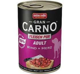 Animonda Adult Gran Carno Plus hovězí +srdce 800g