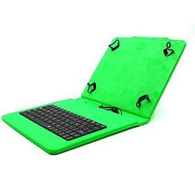 """C-TECH PROTECT pouzdro univerzální s klávesnicí pro 7""""-7,85"""" tablety, FlexGrip, NUTKC-01, zelené"""