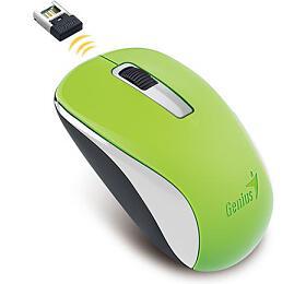 Genius Wireless NX-7005, USB, zelená, BlueEye