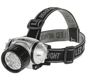 Kruger&Matz KEMOT URZ0029 - Led svítilna čelovka, 14led, 4 světelné funkce