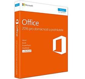 Microsoft Office 2016 CZpro domácnosti apodnikatele