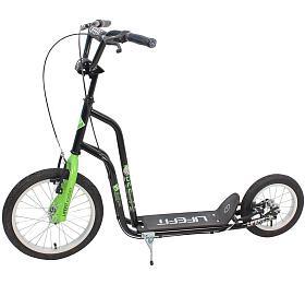 """Lifefit Rider 16""""/12"""" -černá/zelená"""