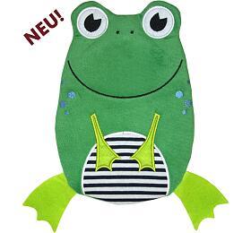 Dětský termofor Hugo Frosch Eco Junior Comfort -žába