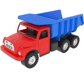 Dino Auto Tatra 148 plast 30cm červenomodrá sklápěč vkrabici