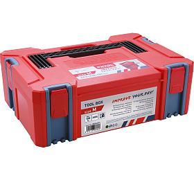 Box plastový, Mvelikost, rozměr 443x310x151mm, ABS