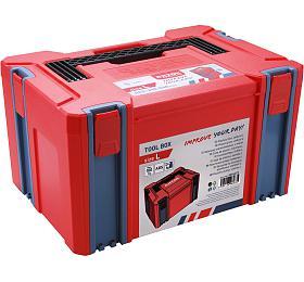 Box plastový, Lvelikost, rozměr 443x310x248mm, ABS