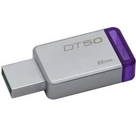 Kingston DataTraveler 508GB USB 3.0 -fialový/kovový