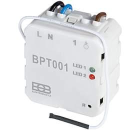 ELEKTROBOCK Přijímač BPT001 kbezdrátovému digitálnímu termostatu BPT710/BPT010 Elektrobock