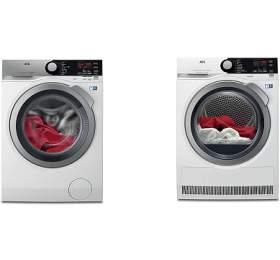 AEG ProSteam® L7FEE68SC +Sušička prádla AEG AbsoluteCare® T8DBE68SC