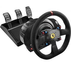 Thrustmaster Sada volantu a pedálů T300 Ferrari 599XX EVO Alcantara pro PS3, PS4,PS4 PRO,PC(4160652)