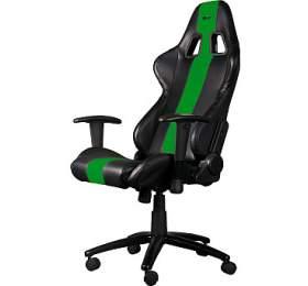 C-TECH PHOBOS, pro gaming, černo-zelené