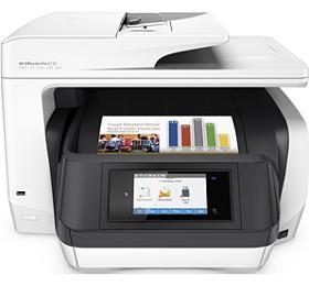 Tiskárna multifunkční HP Officejet Pro 8720 A4, 24str./min, 20str./min, 1200 x 1200, 256 MB, automatický duplex, WF, USB - bílý