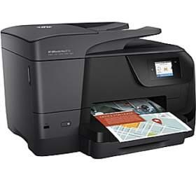 Tiskárna multifunkční HP Officejet Pro 8715 A4, 22str./min, 18str./min, 1200 x 1200, 128 MB, automatický duplex, WF, USB - černý