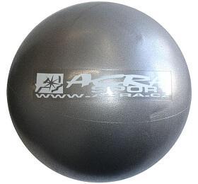 ACRA Míč OVERBALL 30cm, stříbrný