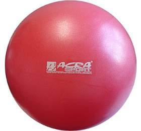 ACRA Míč OVERBALL 30cm, červený