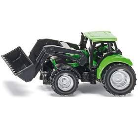 SIKU Blister -Traktor DEUTZ sčelním nakladačem