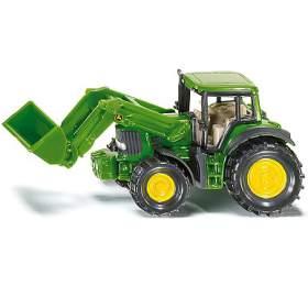 SIKU Bliste r- Traktor John Deere s nakladačem