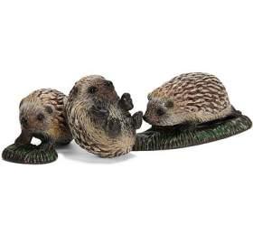 Zvířátko - 3 mláďata ježka SCHLEICH