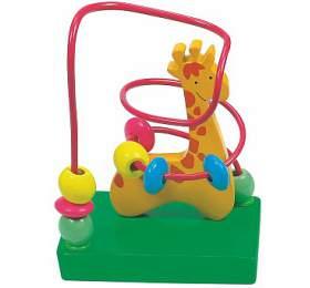 "Motorický labyrint malý ""Žirafa"" WOODY"