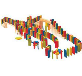 "Domino ""Rally"", 200 dílů WOODY"