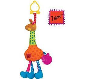 Úchyt nakočárek -žirafa Igor vdispleji po12 ksK´s Kids