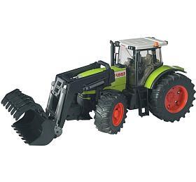 Traktor Claas Atles 936 RZs předním nakladačem BRUDER