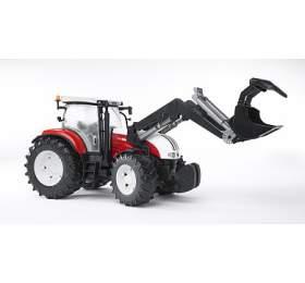 Bruder 3091 Traktor STEYR CVT 6230 + čelní nakladač