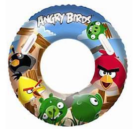 Nafukovací kruh velký - Angry Birds, průměr 91 cm Bestway