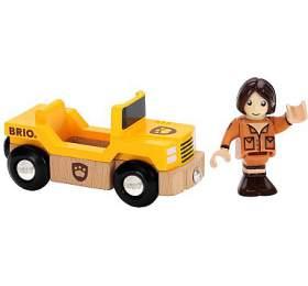 Safari auto s panáčkem BRIO