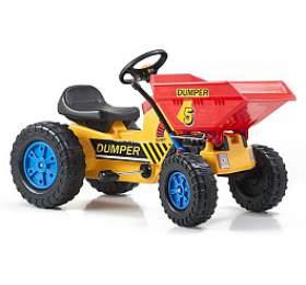 G21 Classic sčelním nosičem žluto/modrý