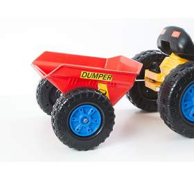 G21 vlečka k šlapacímu traktoru červená